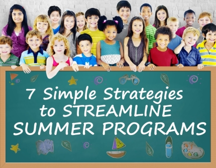 Strategies to Simplify Summer Programs